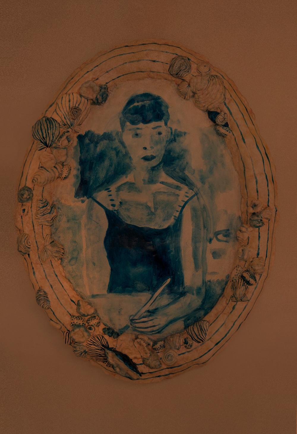 Elizabeth Englander Presentimental, 2013 Papier-mâché and acrylic paint